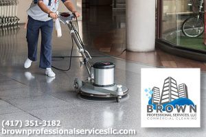 Brown Professional Services Commercial Floor Polishing Springfield MO